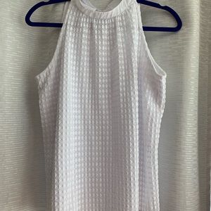 White summer shirt